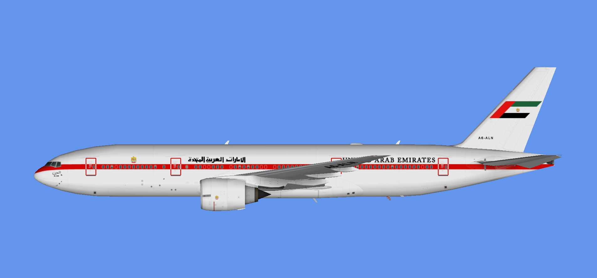 UAE Pres. Flight 777-200 (TFS)