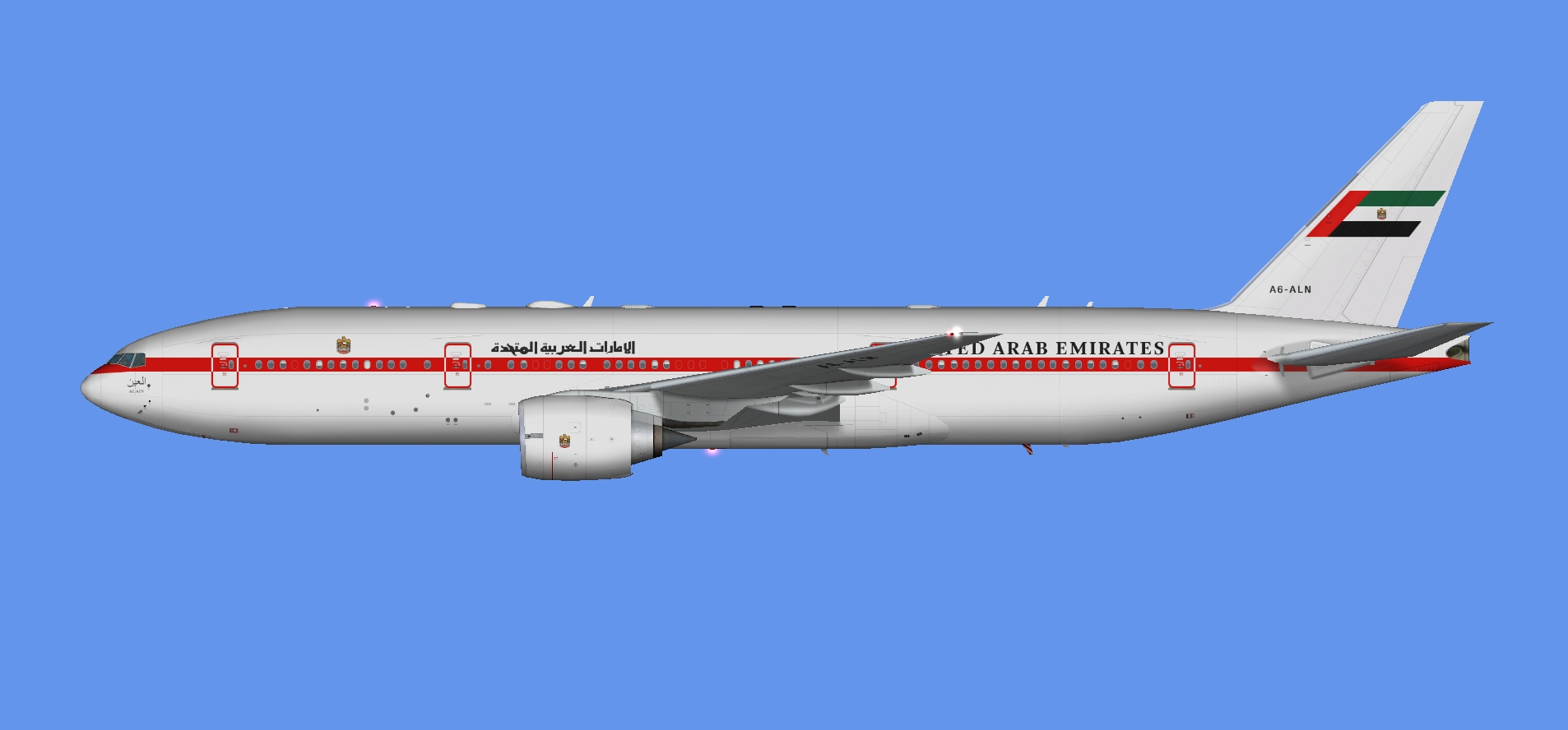 UAE Pres. Flight 777-200 (FSP)