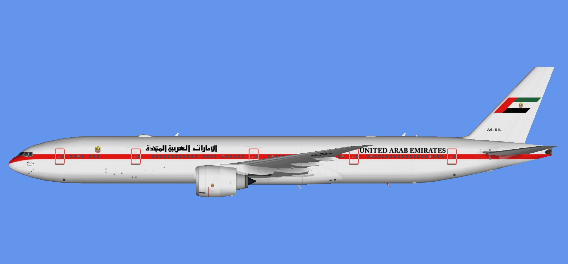 UAE Pres. Flight 777-300ER (TFS)