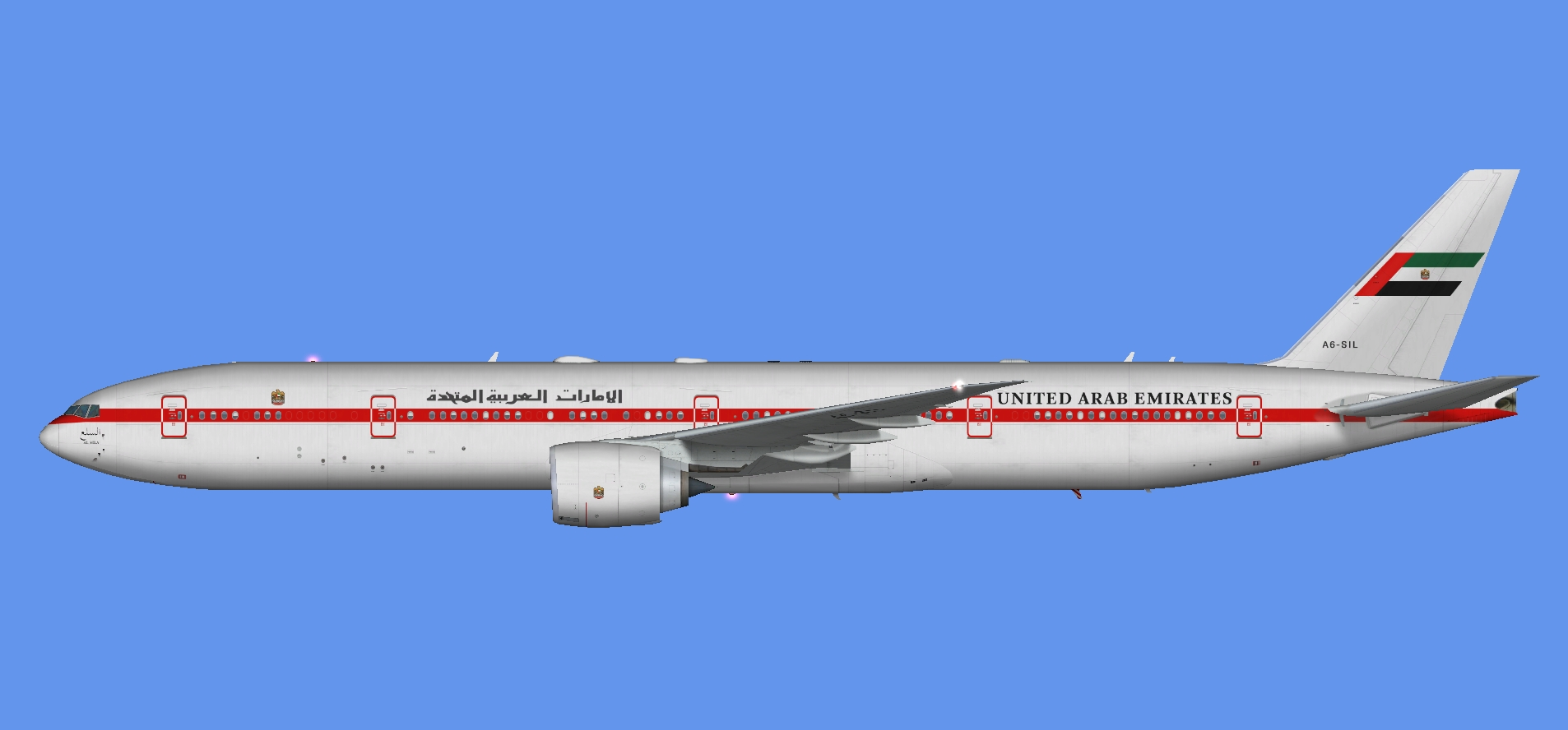 UAE Pres. Flight 777-300 (FSP)