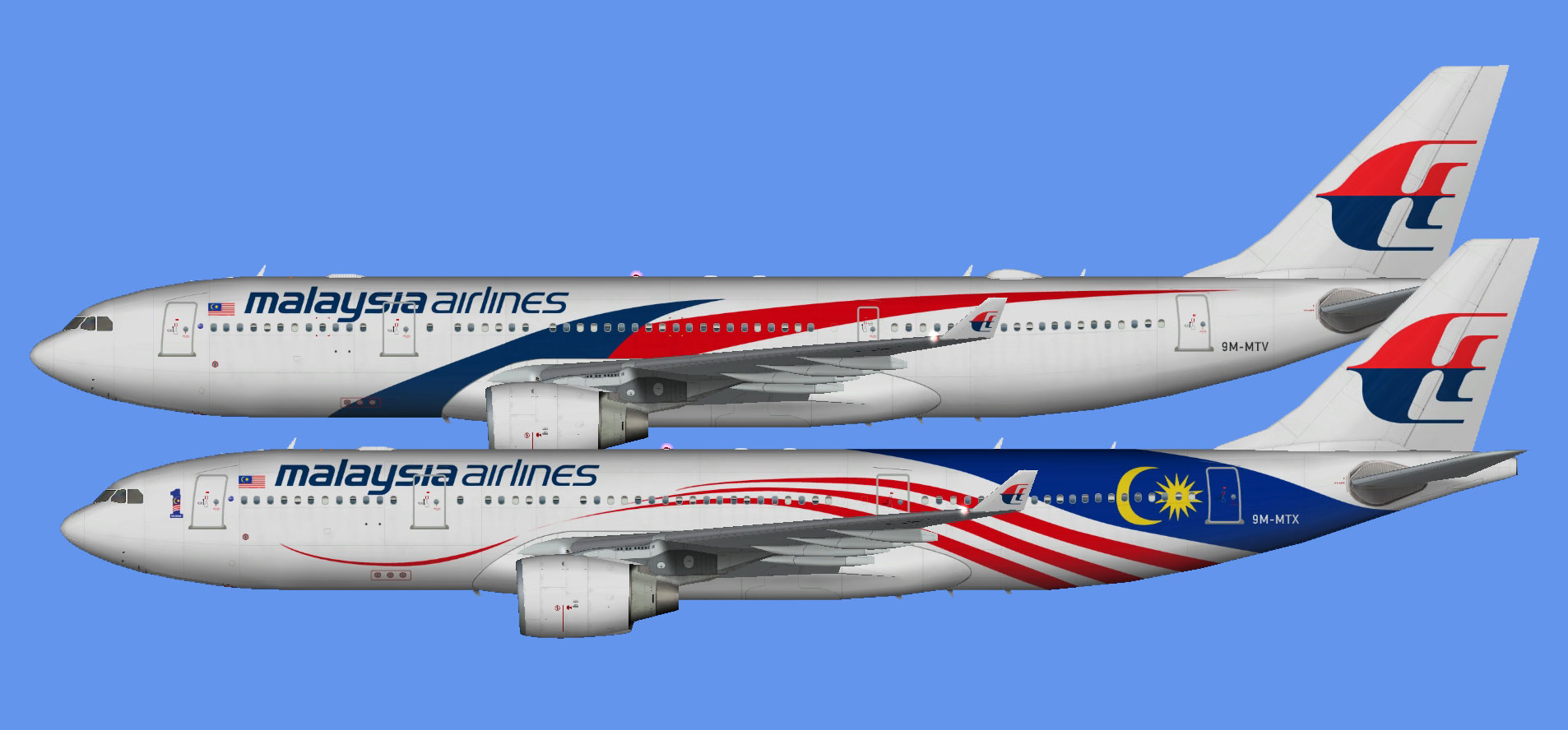 Malaysia Airlines A330-200 (FSP)