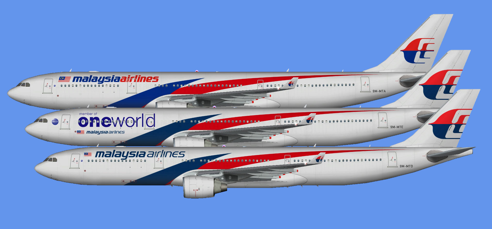 Malaysia Airlines A330-300 (FSP)
