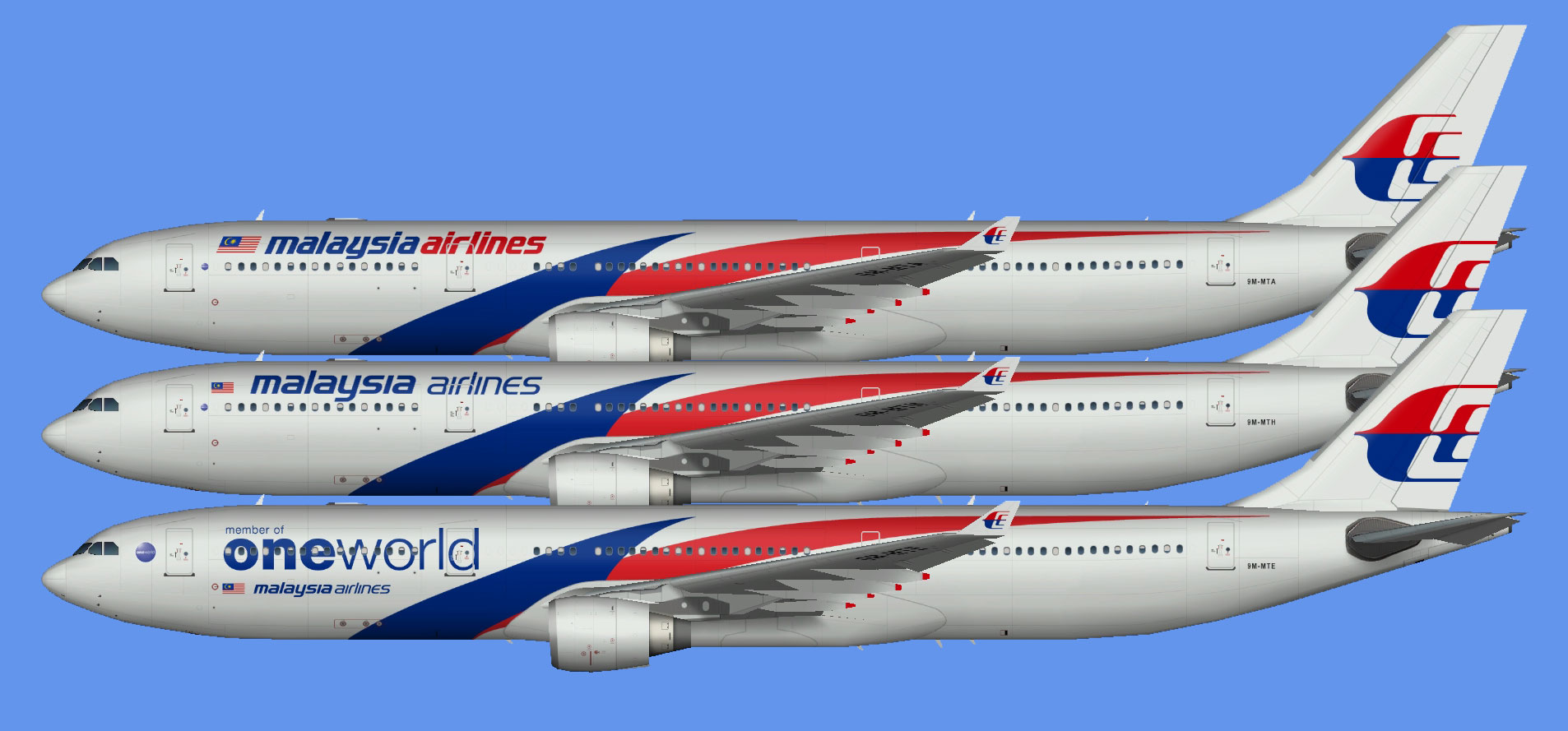 Malaysia Airlines A330-300 (TFS)
