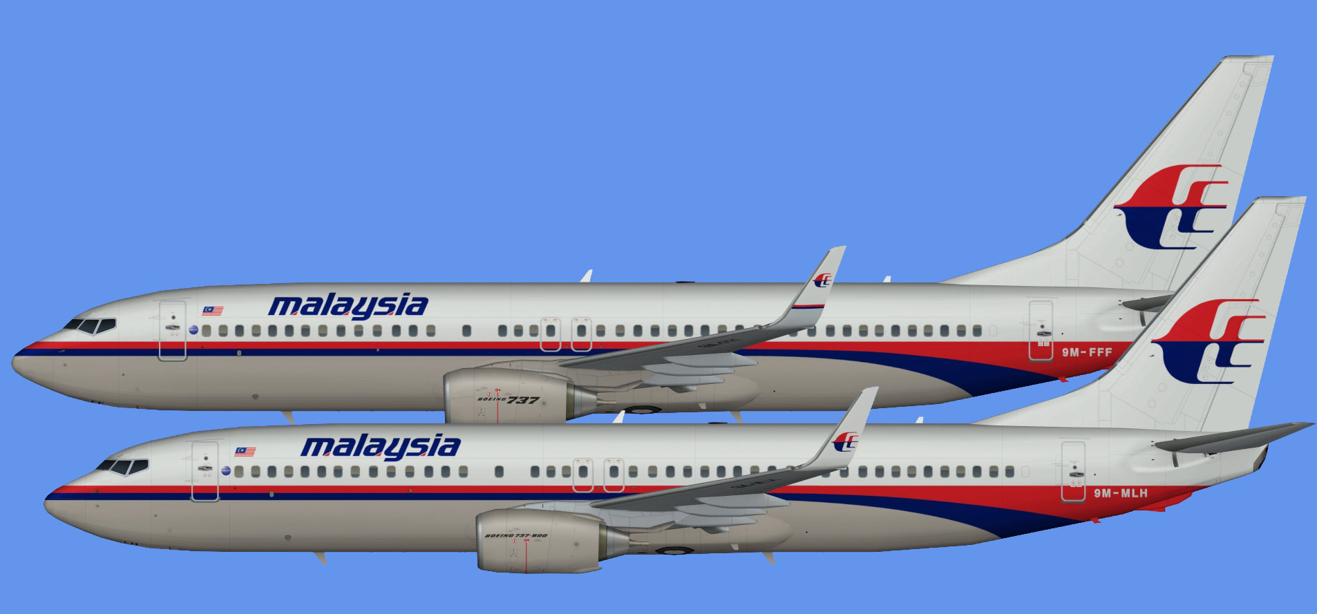 Malaysia Airlines  737-800 OOC