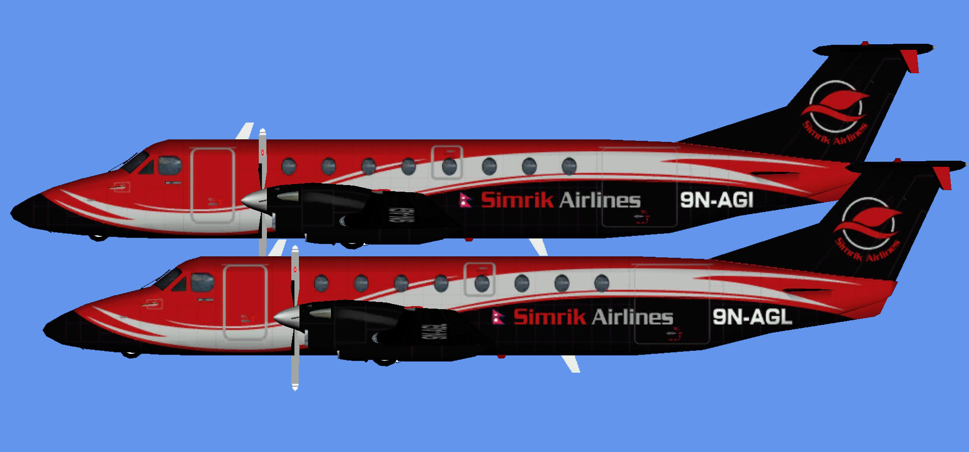 Simrik Airlines Beechcraft 1900C