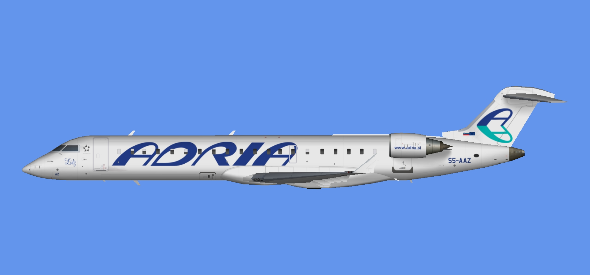 Adria Airways CRJ-700