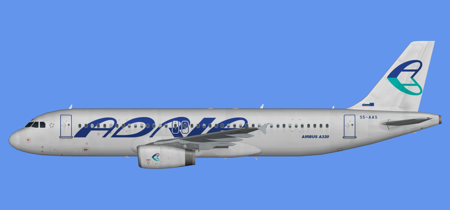 Adria Airways A320