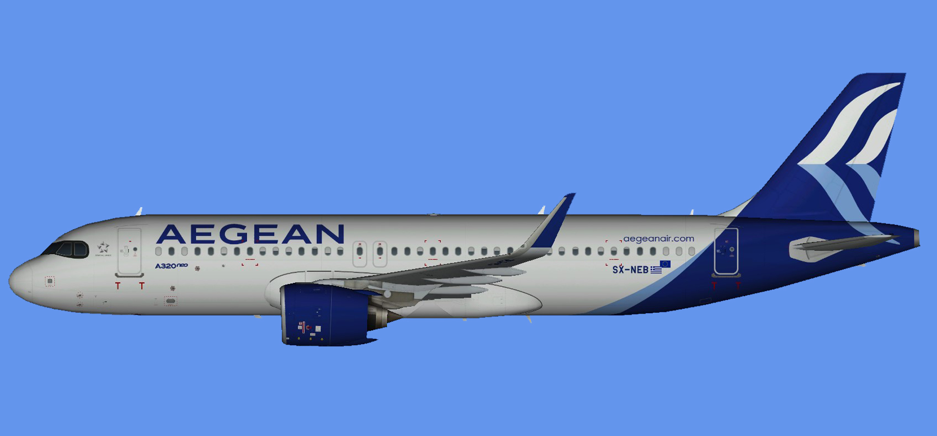 Aegean Airlines Airbus A320 NEO NC