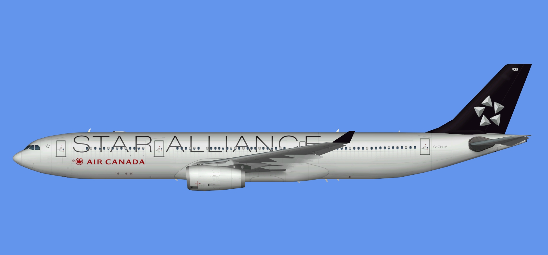 Air Canada A330-300 Star Alliance (TFS)