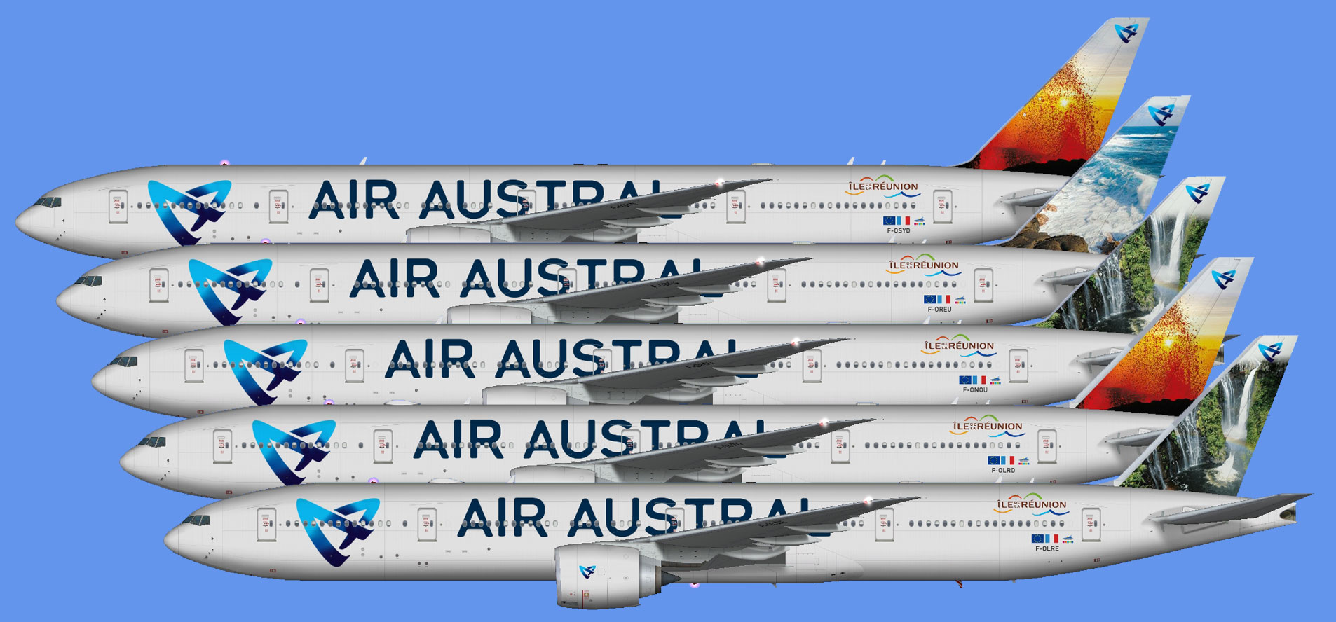 Air Austral - The Flying Carpet Hub