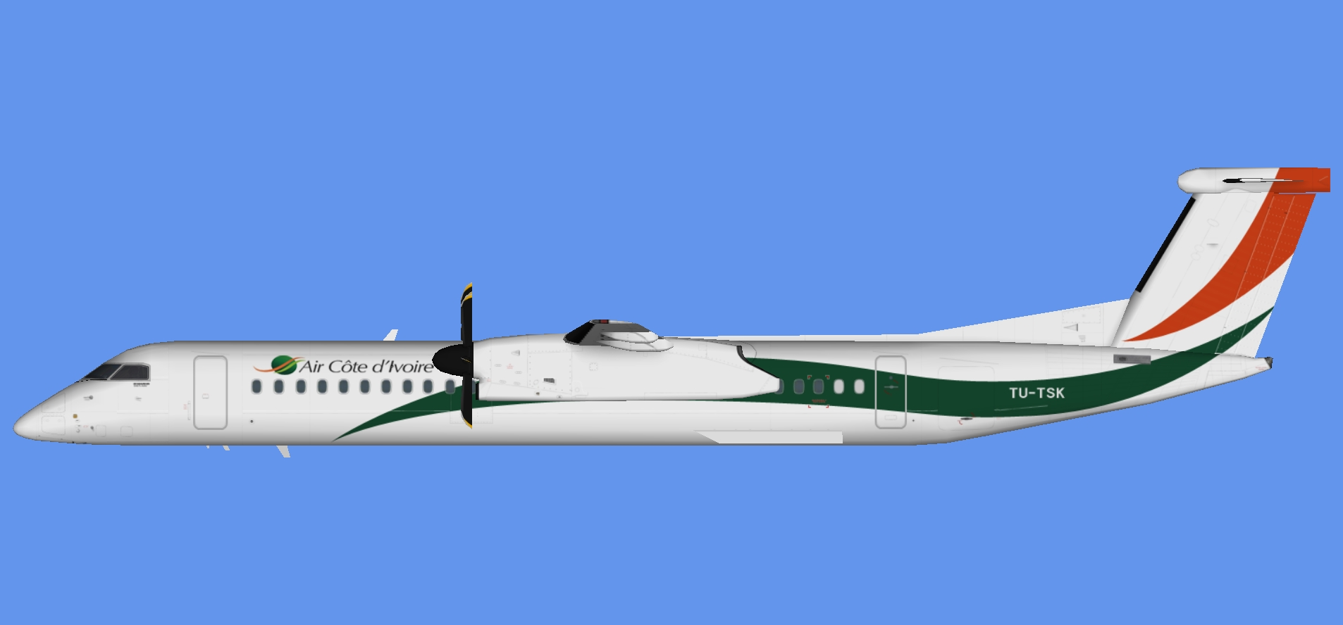 Air Cote d'Ivoire Dash 8-400