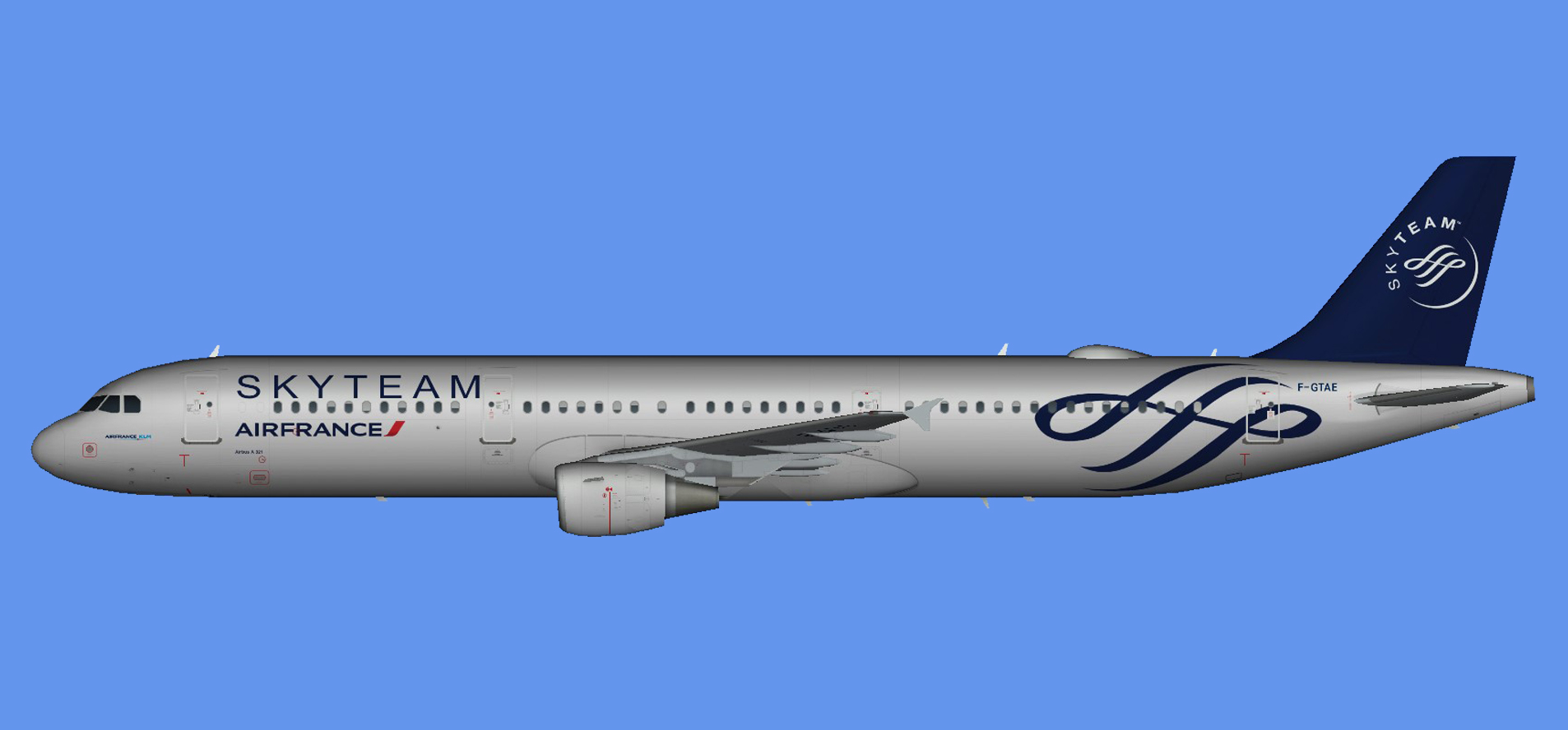 Air France Airbus A321 Skyteam