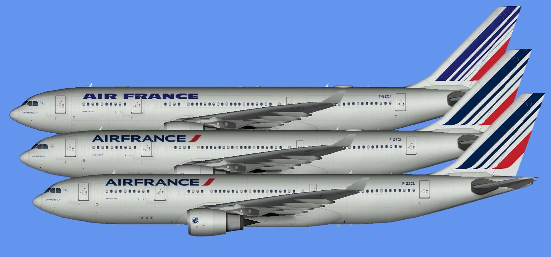 Air France Airbus A330 (TFS)