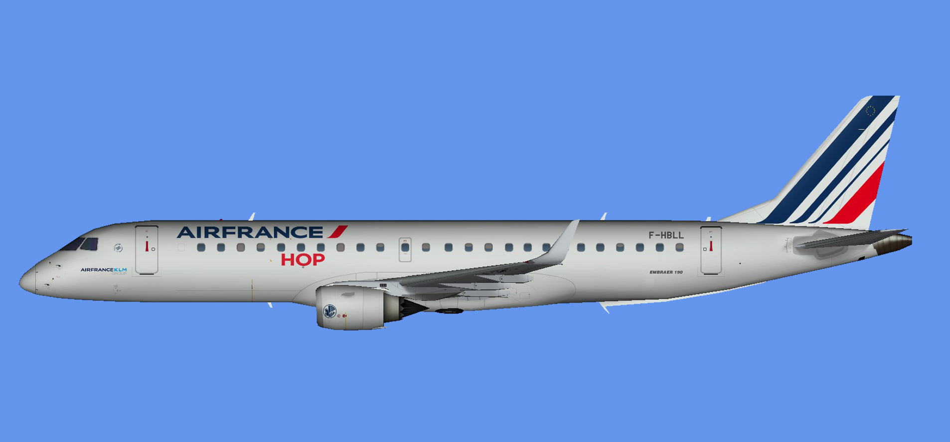 Air France Embraer E-190