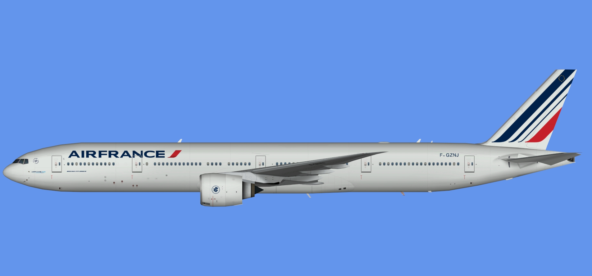 Air France 773ER NC (TFS)