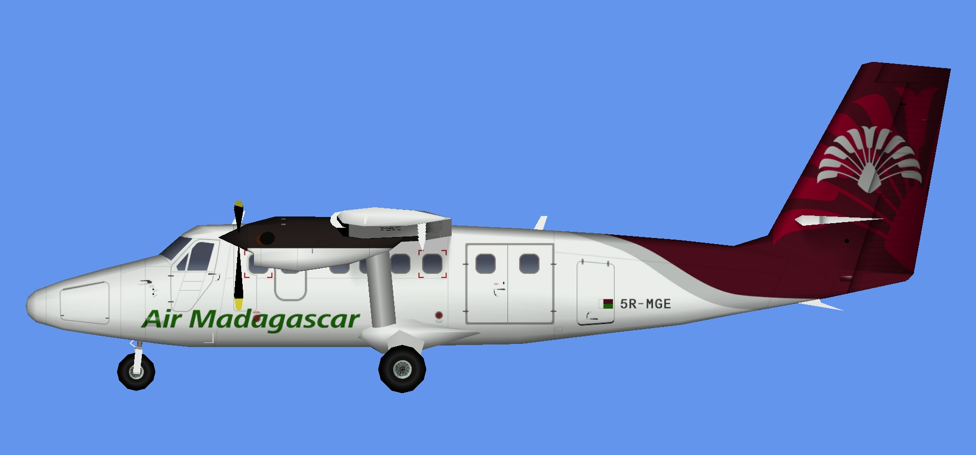 Air Madagascar DHC-6 300