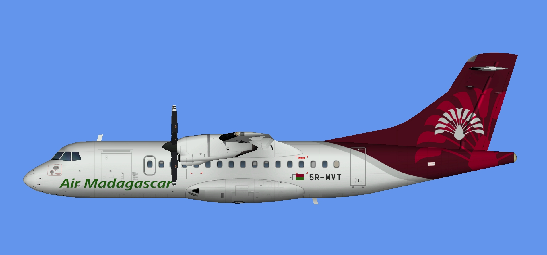 Air Madagascar ATR 42-300