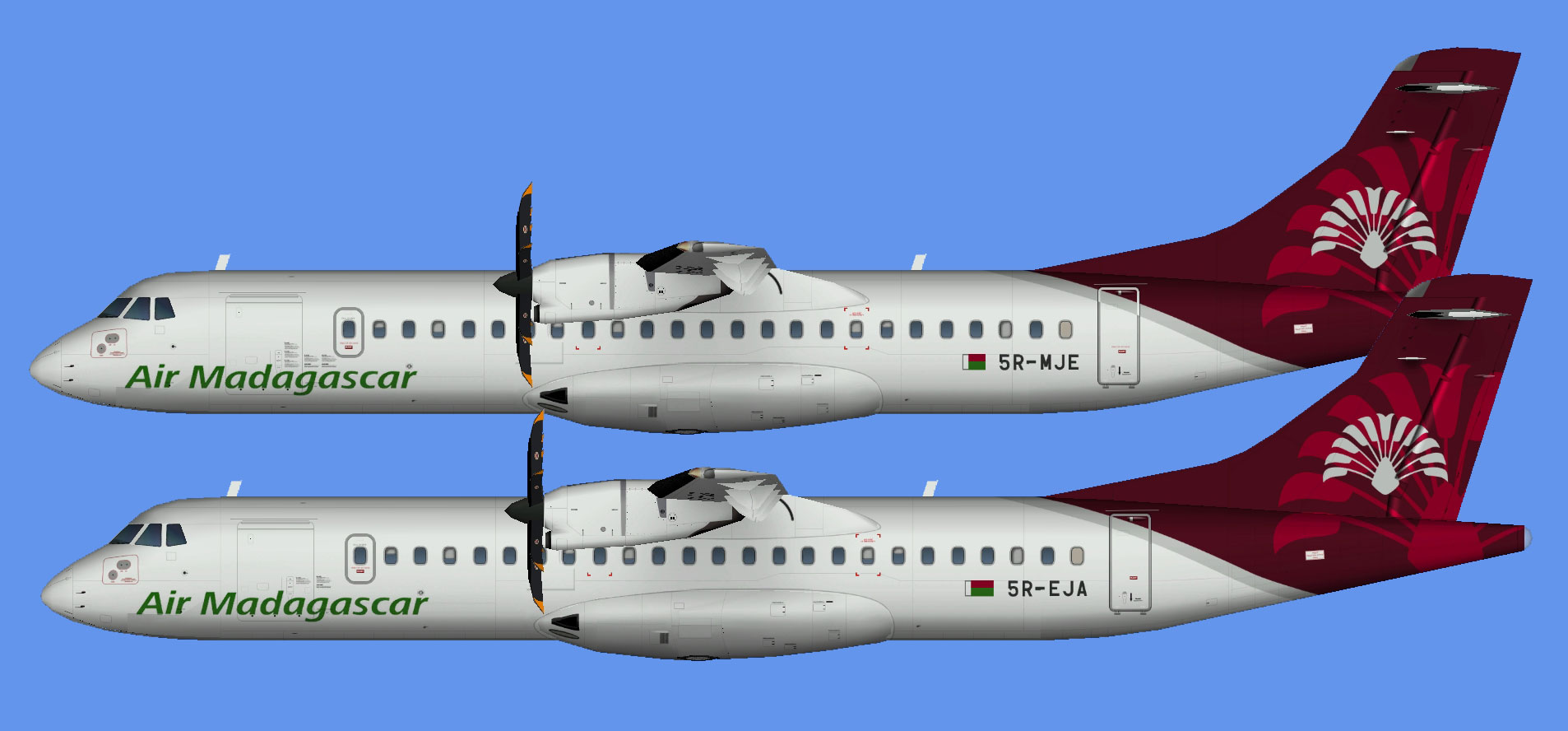 Air Madagascar ATR 72 fleet