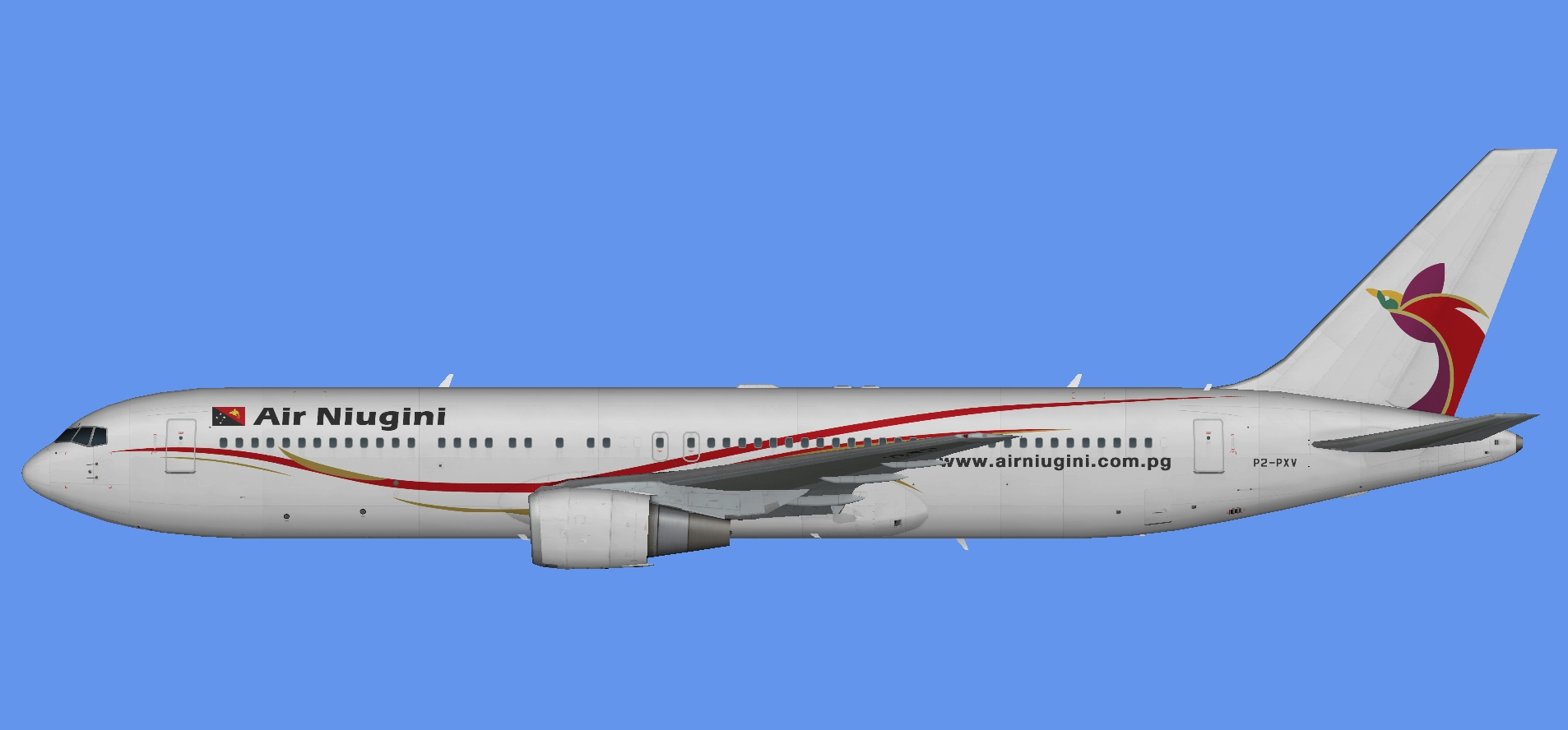 Air Niugini 767-300 GE