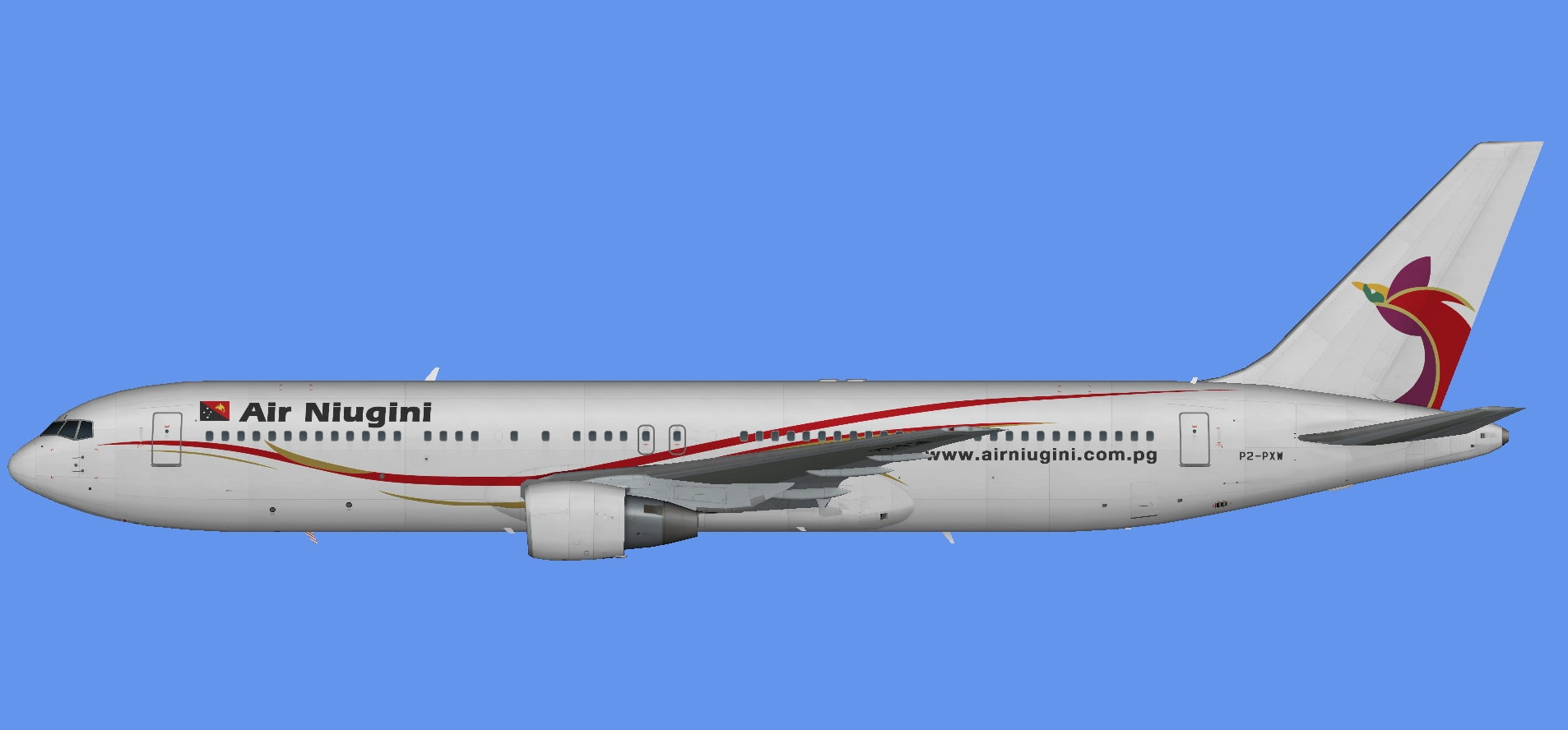 Air Niugini 767-300 PW