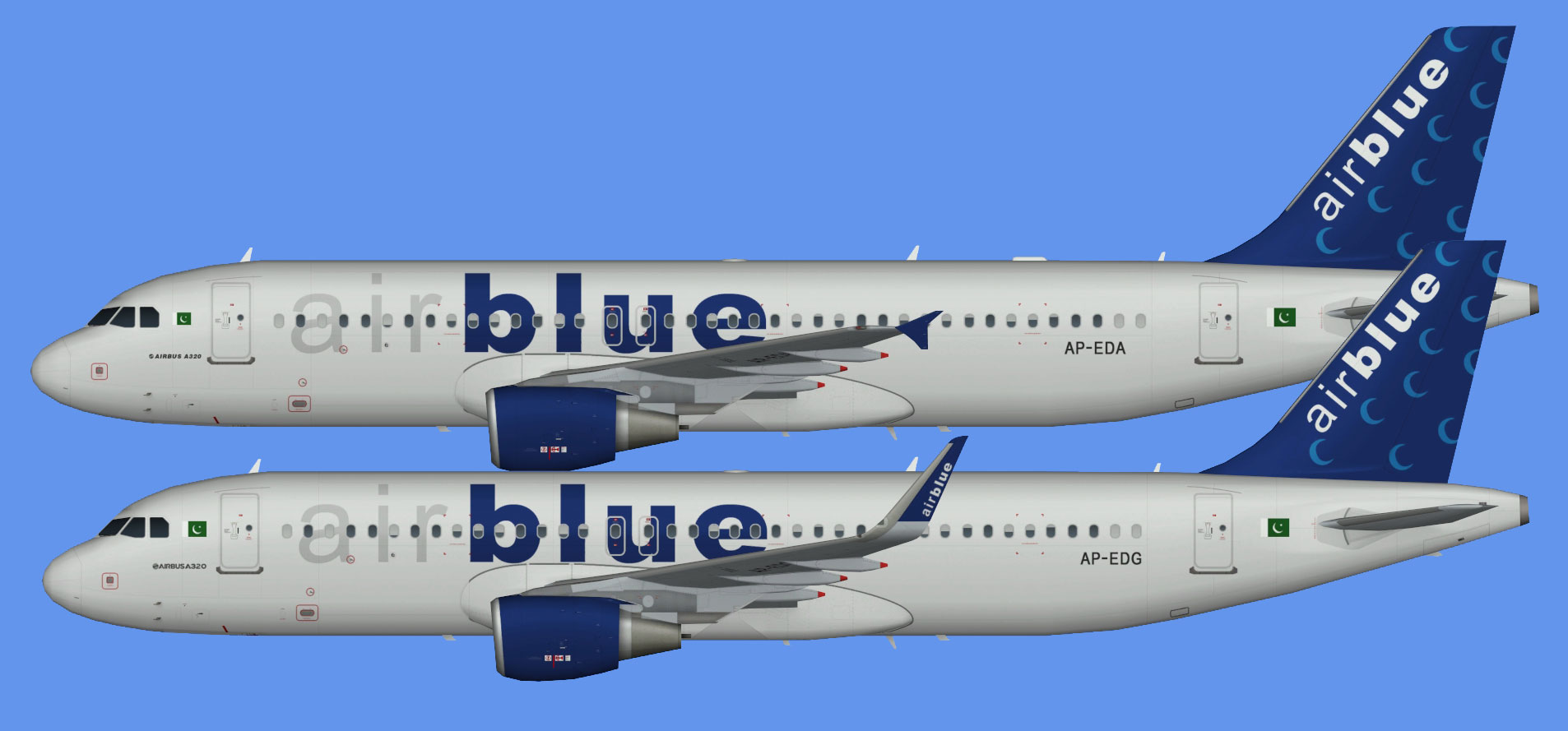 AirBlue Airbus A320