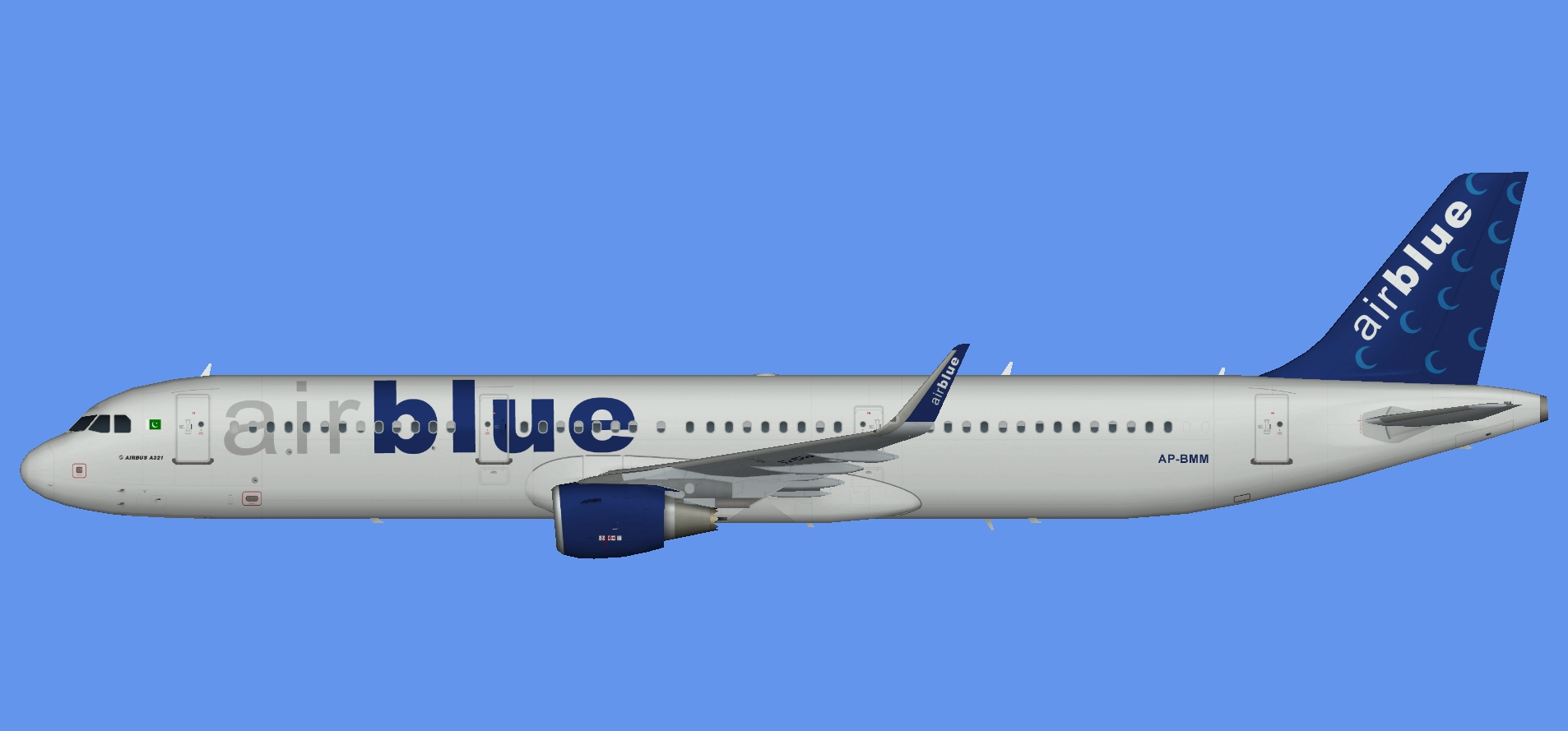 AirBlue Airbus A321