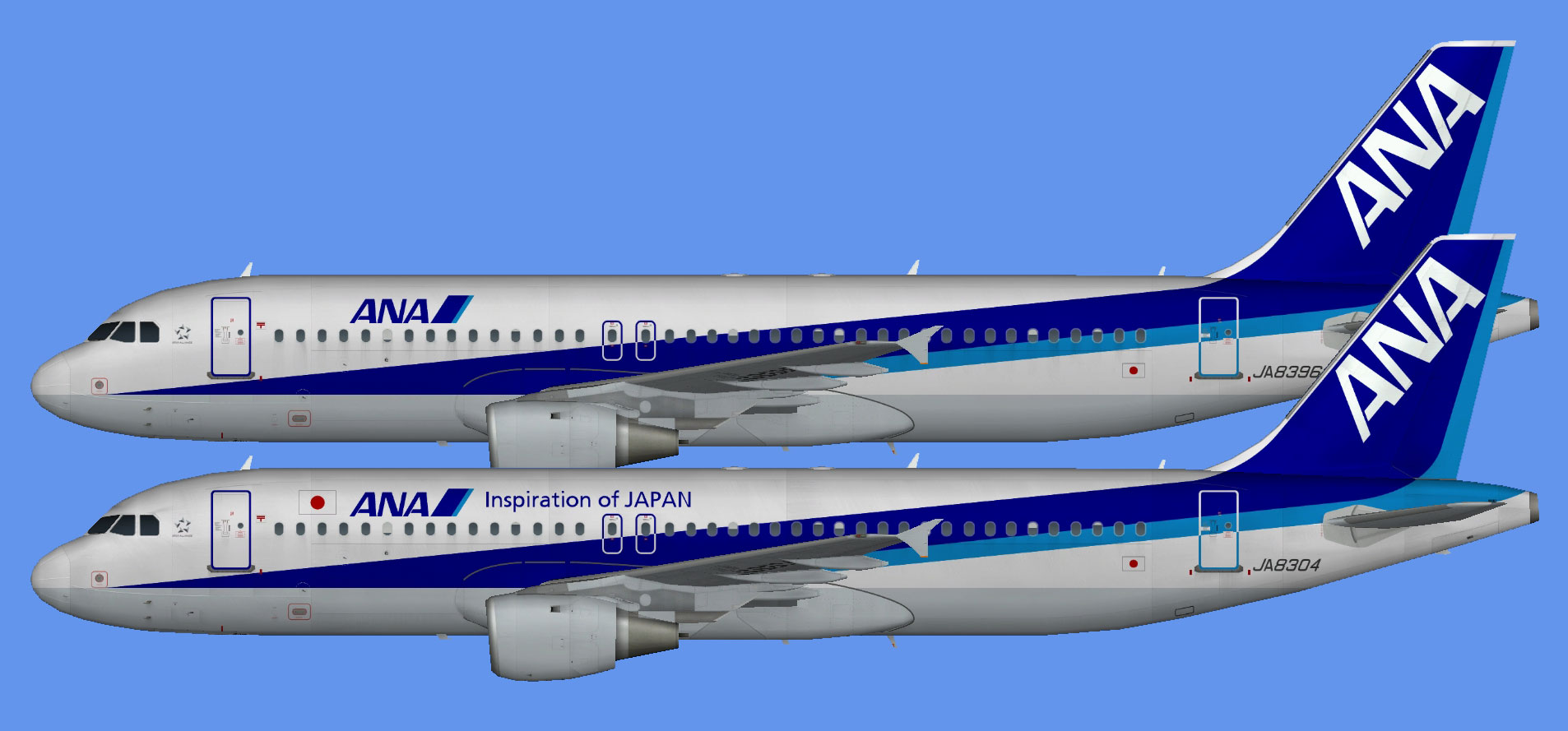 All Nippon Airways Airbus A320