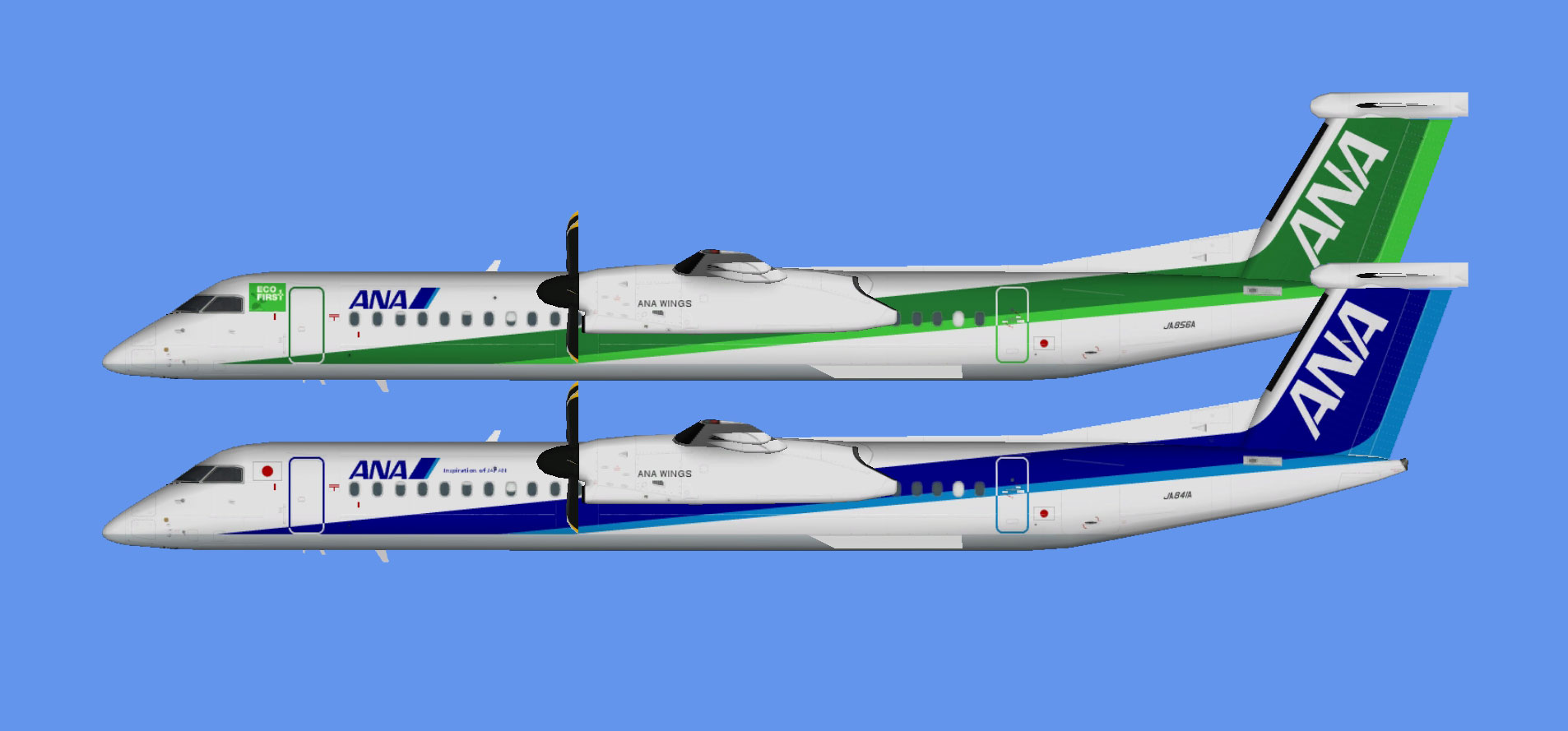 All Nippon Airways Dash 8-400