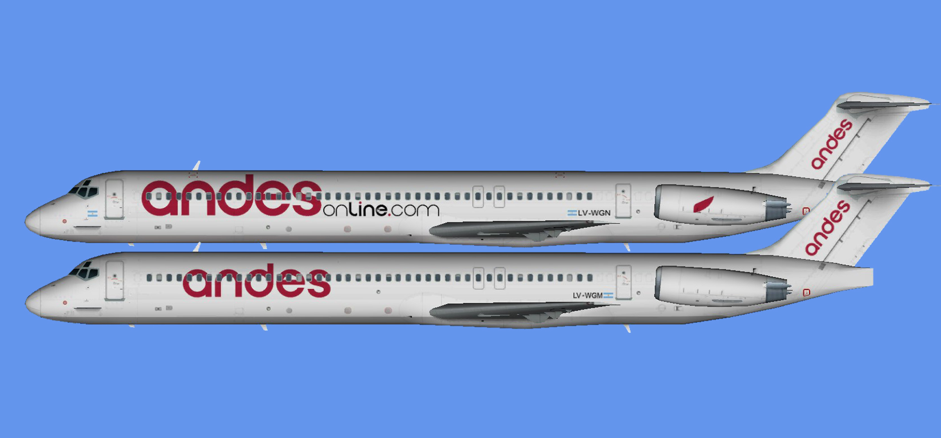 Andes Airlines MD-80