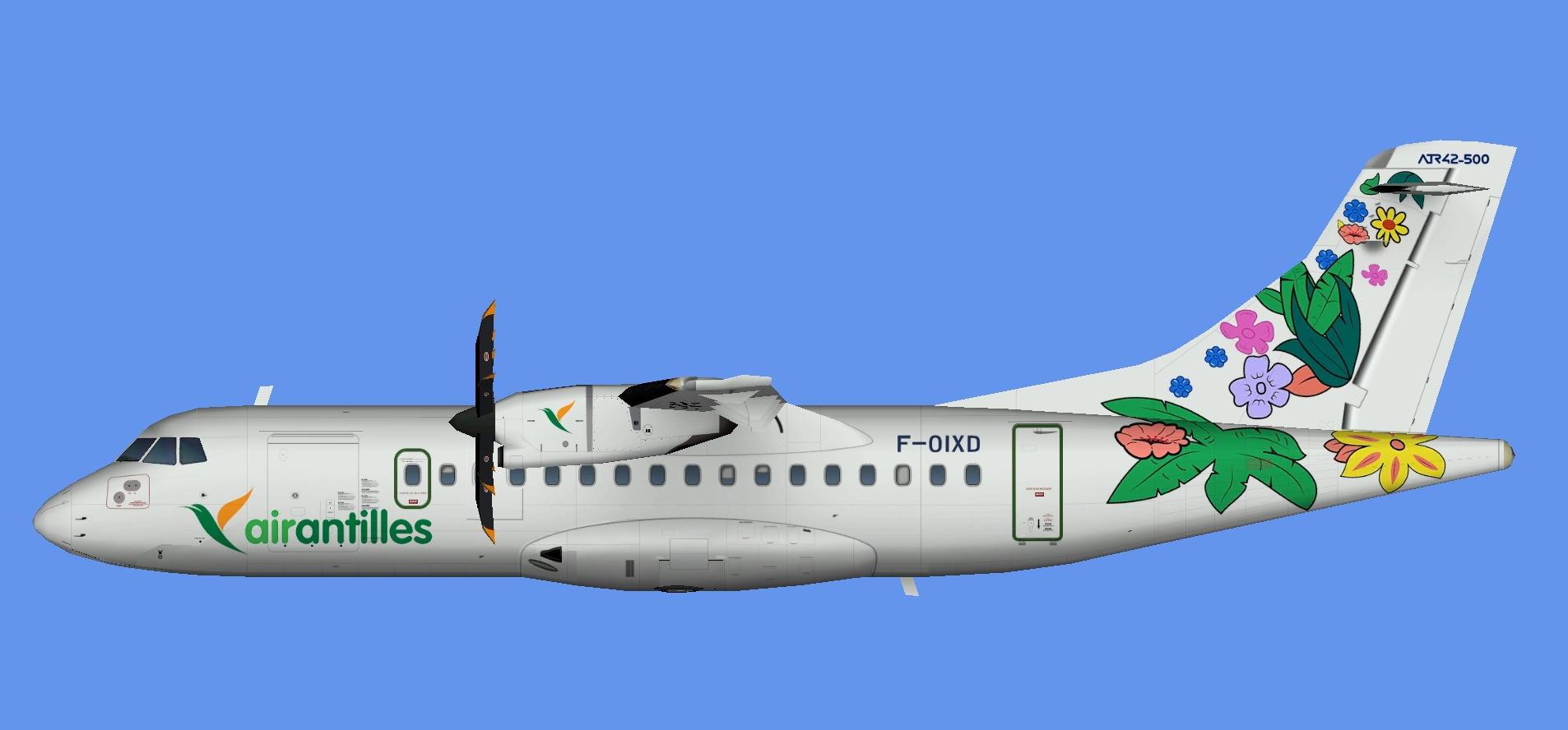 Air Antilles Express ATR 42-500