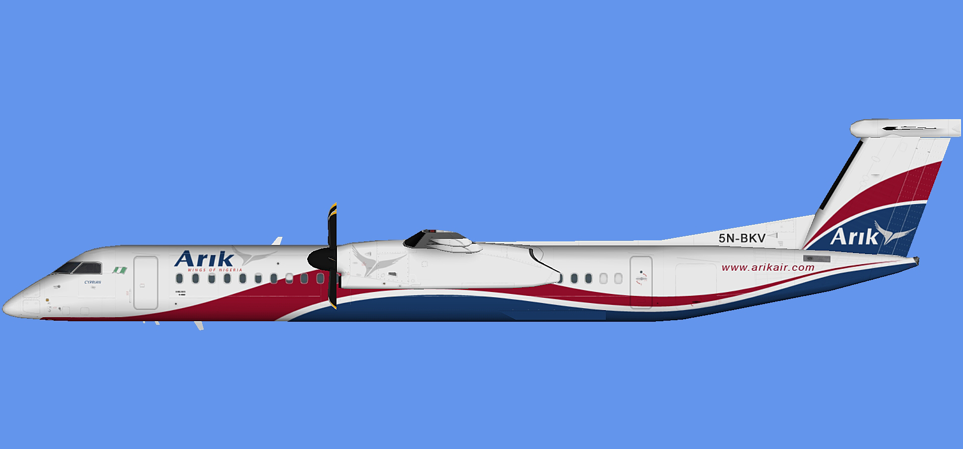 Arik Air Dash 8-400