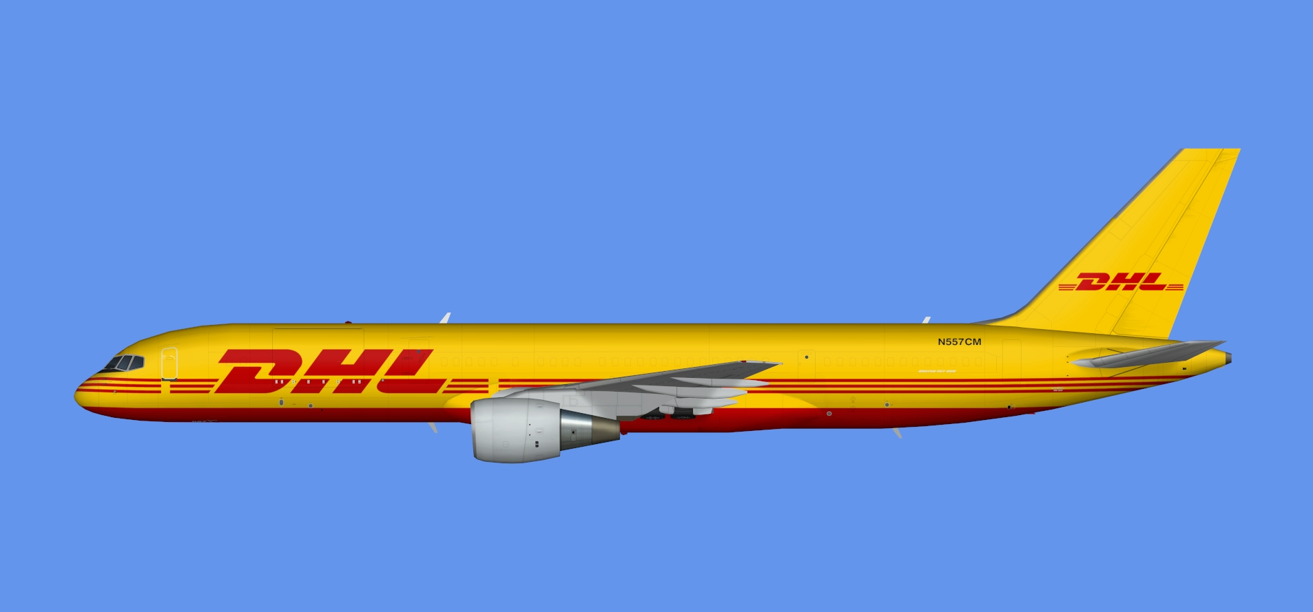 Air Transport International/DHL Boeing 757