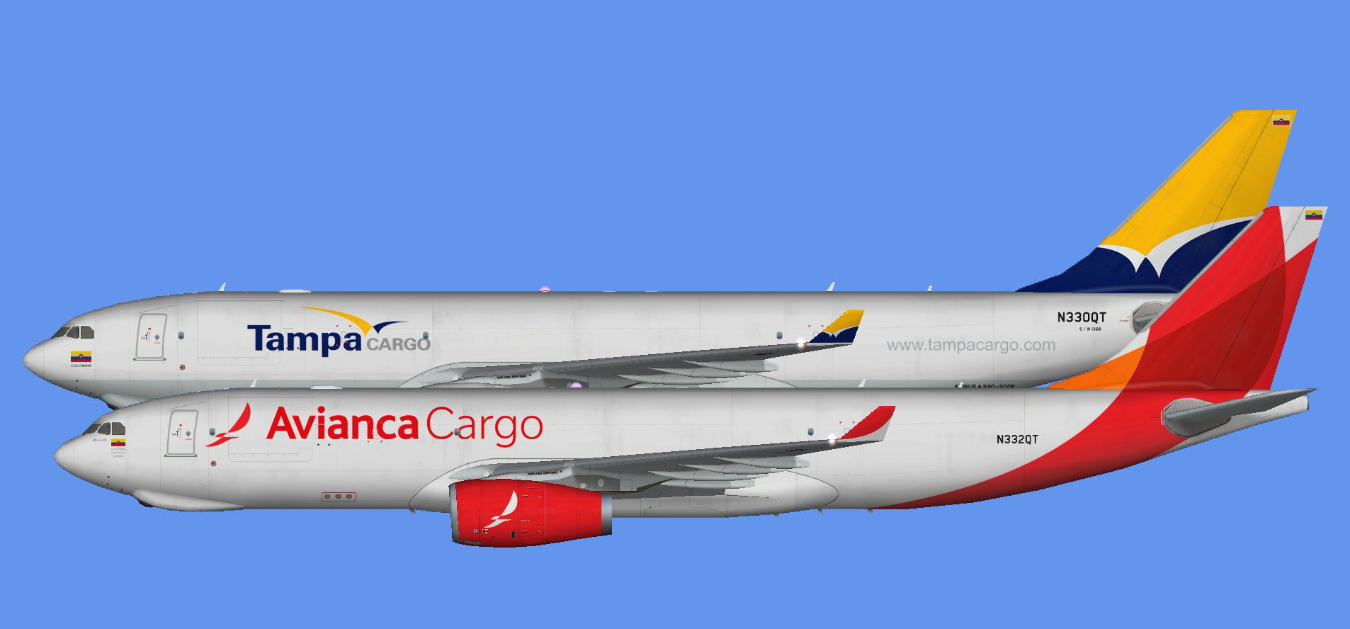 Avianca Cargo Colombia A330F (FSP)