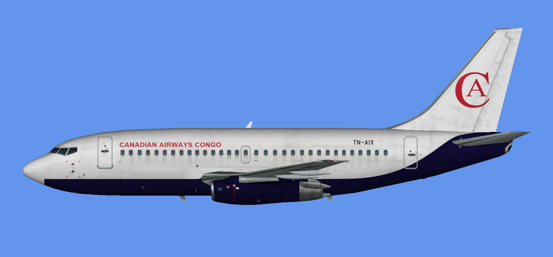 Canadian Airways Congo Boeing 737-200
