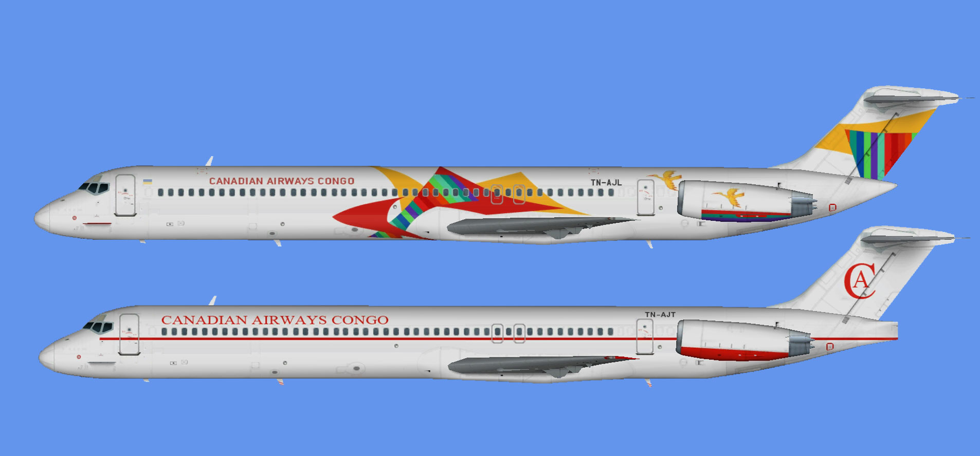 Canadian Airways Congo MD-80