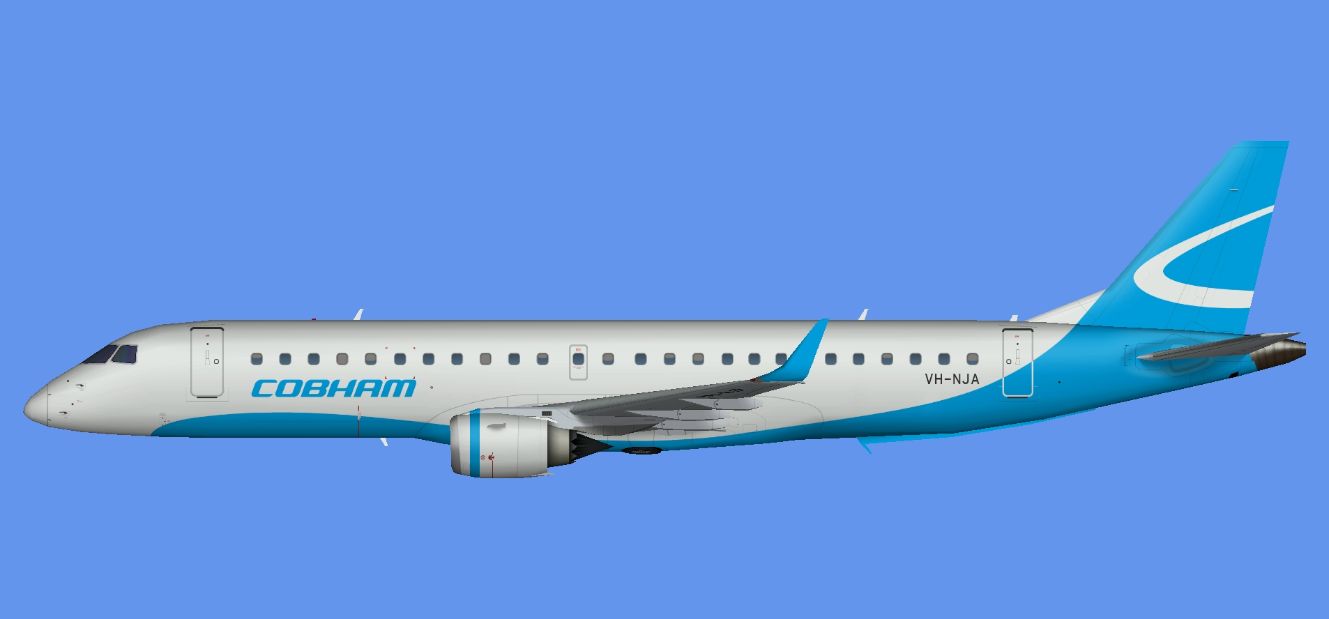 Cobham Aviation Embraer E-190