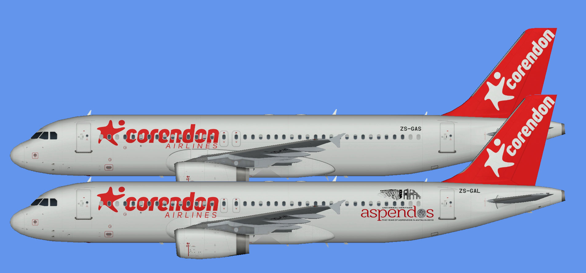 Corendon Airlines Airbus A320