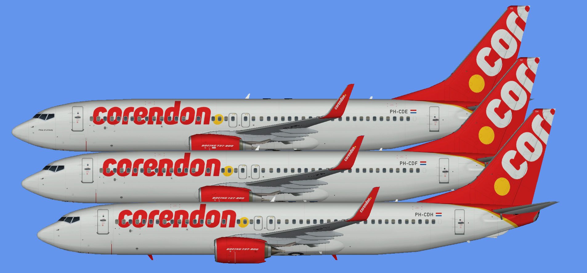 Corendon Dutch Boeing 737-800