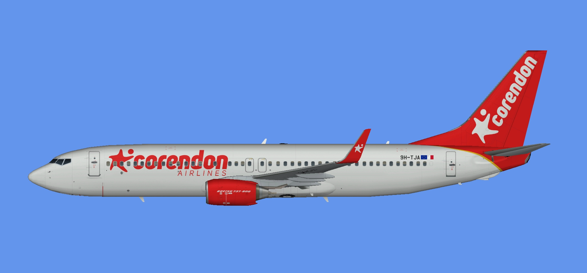 Corendon Europe Boeing 737-800