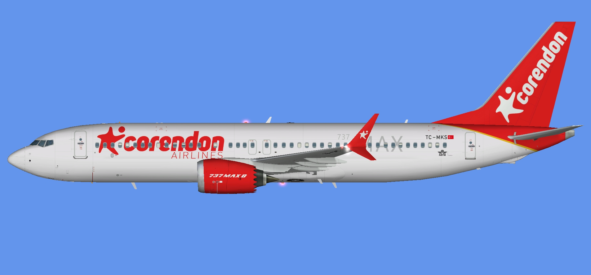 Corendon Airlines Boeing 737MAX-8