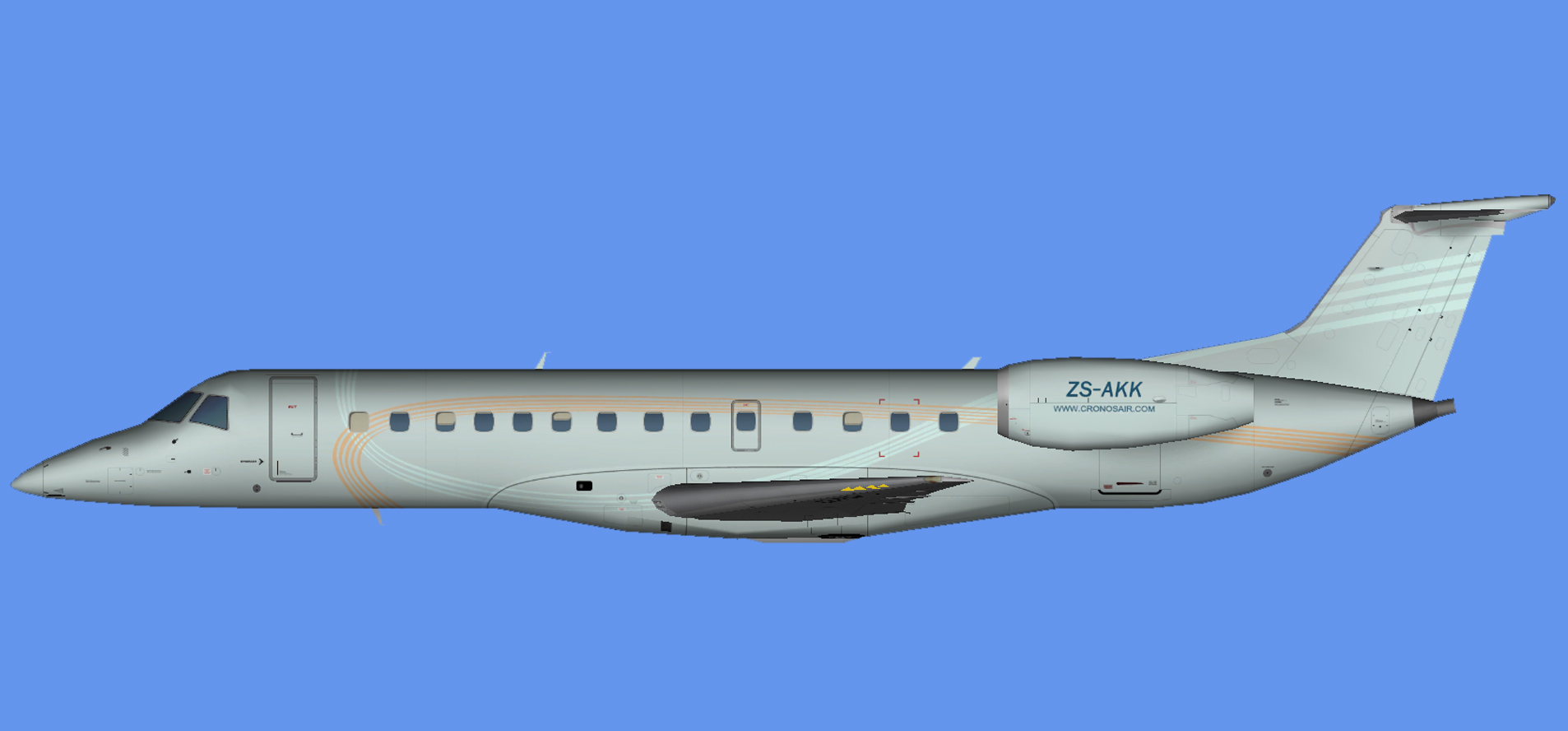 Cronos Airlines Embraer ERJ-135