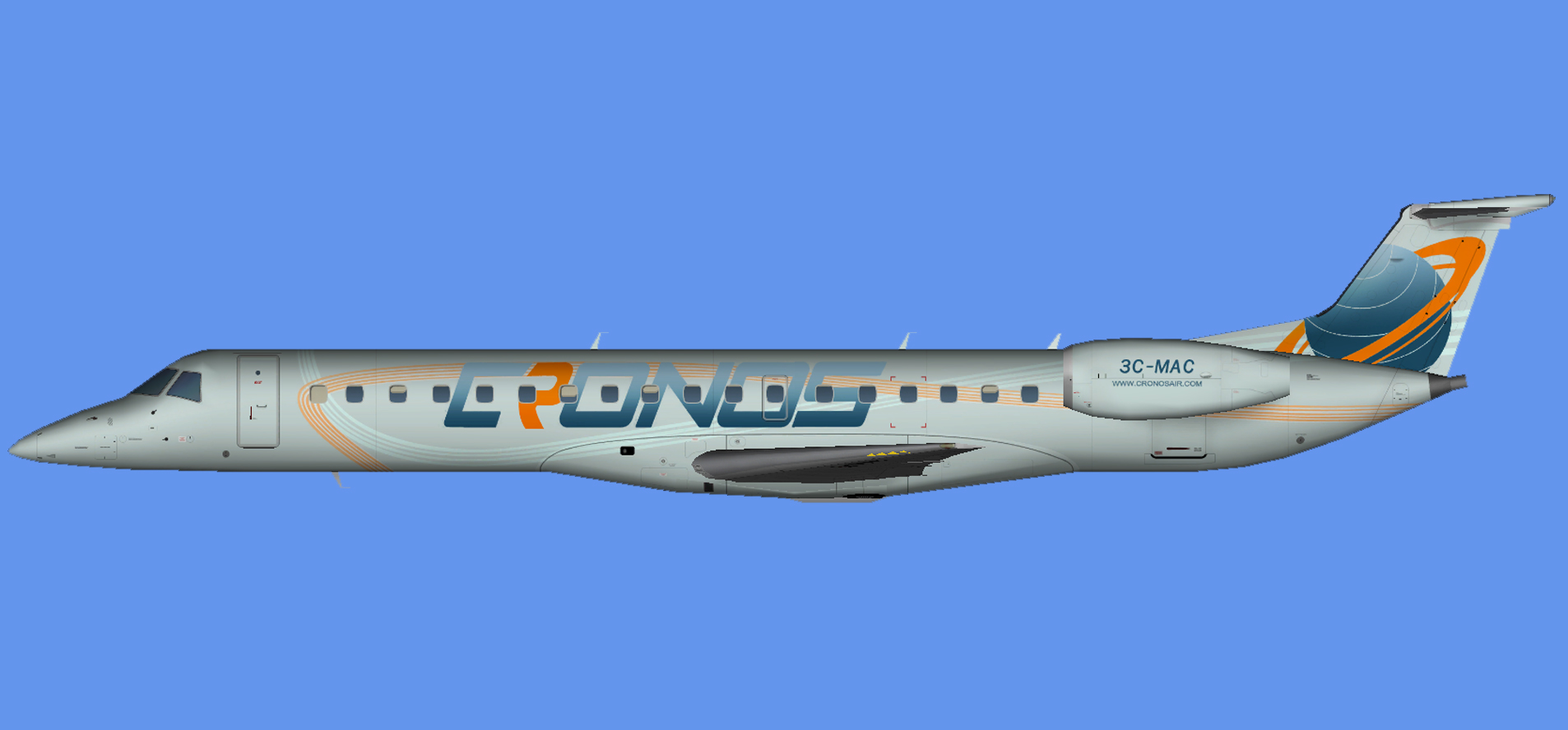 Cronos Airlines Embraer ERJ-145