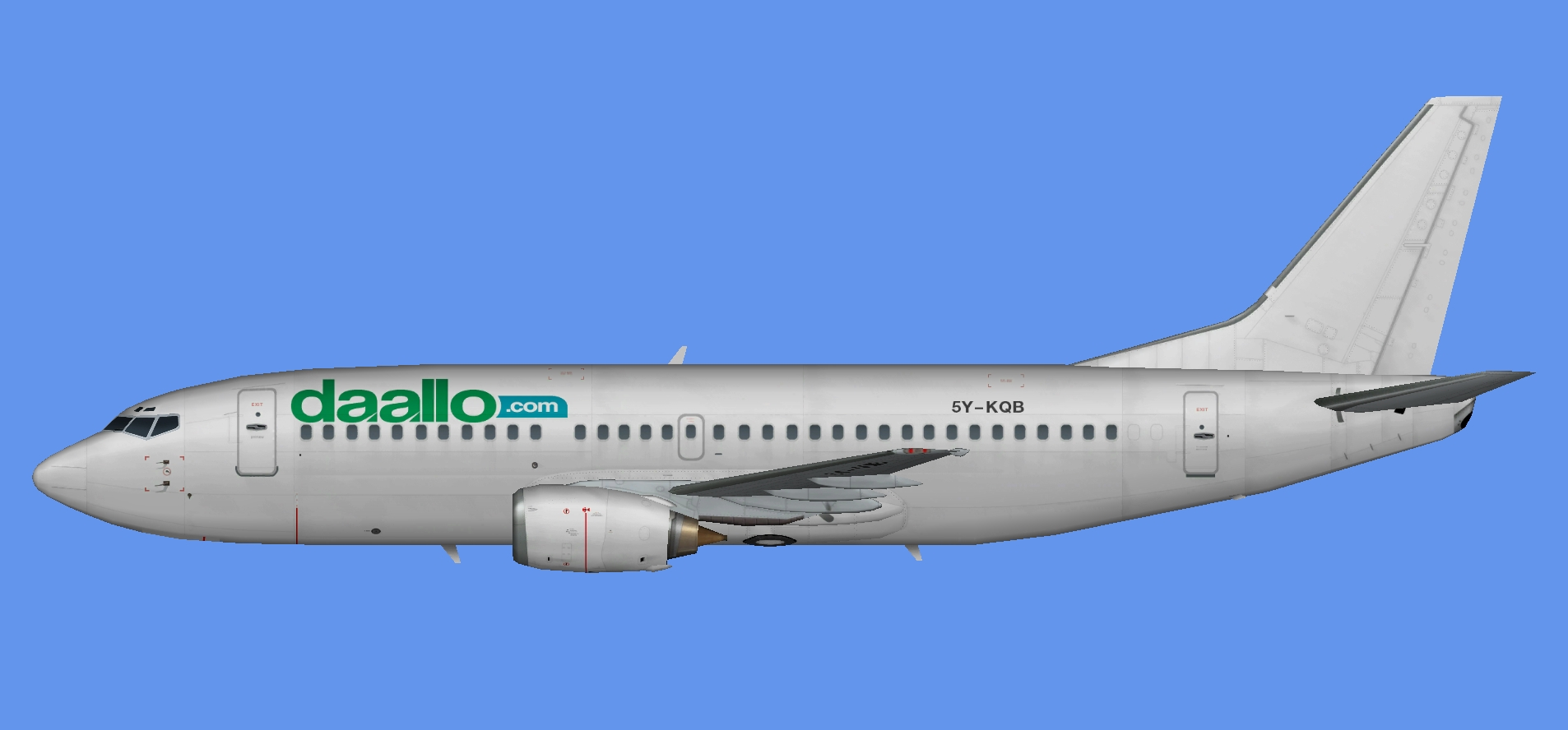 Daallo Airlines Boeing 737-300