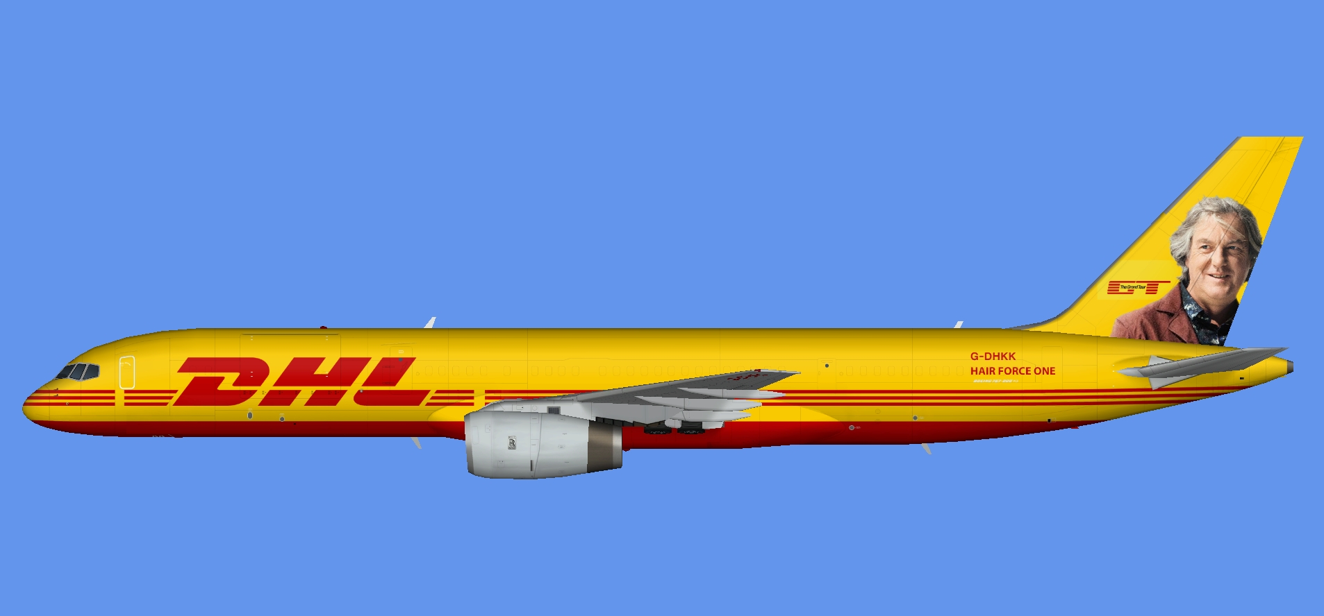 DHL Air Boeing 757 Grand Tour