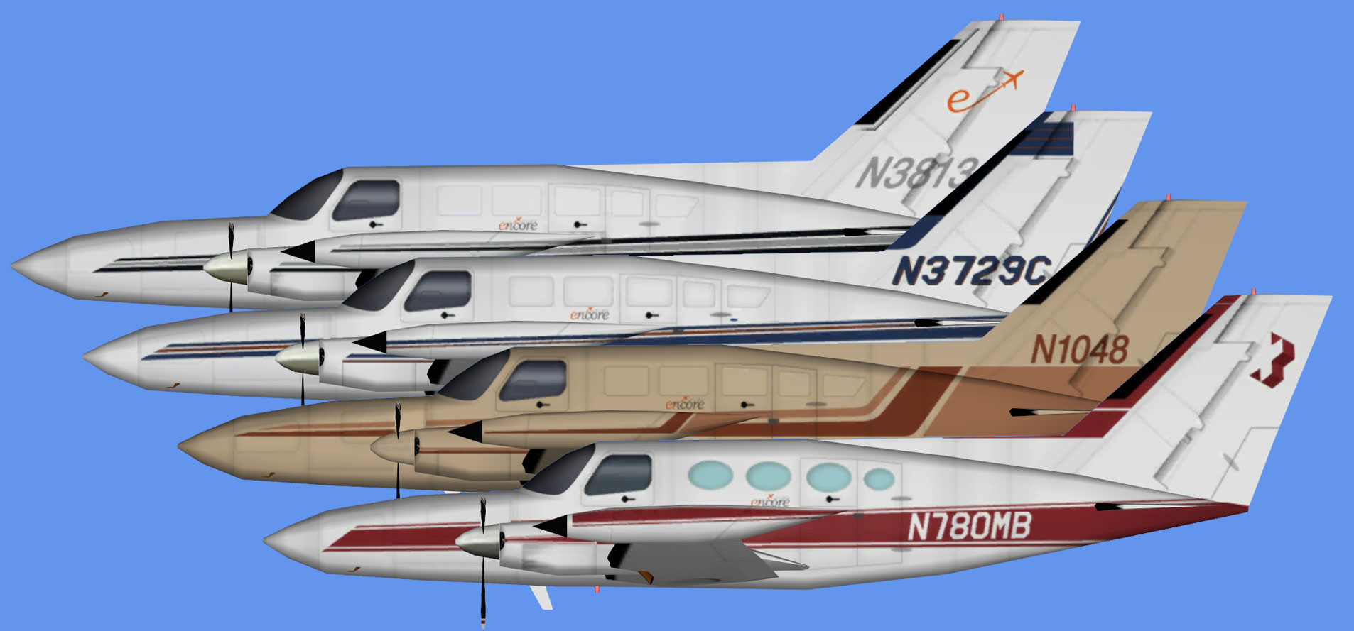 Encore Air Cargo Cessna 402