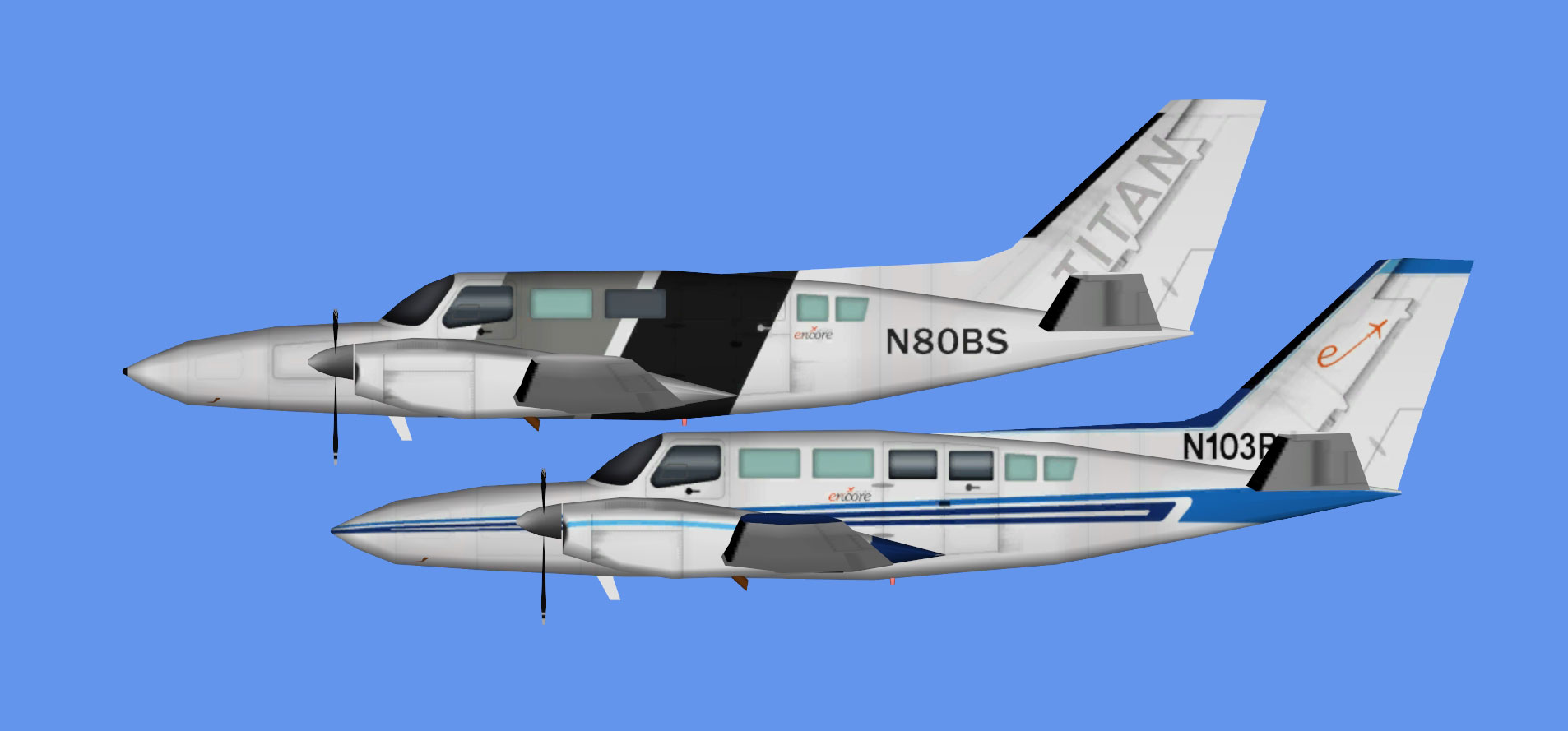 Encore Air Cargo Cessna 404