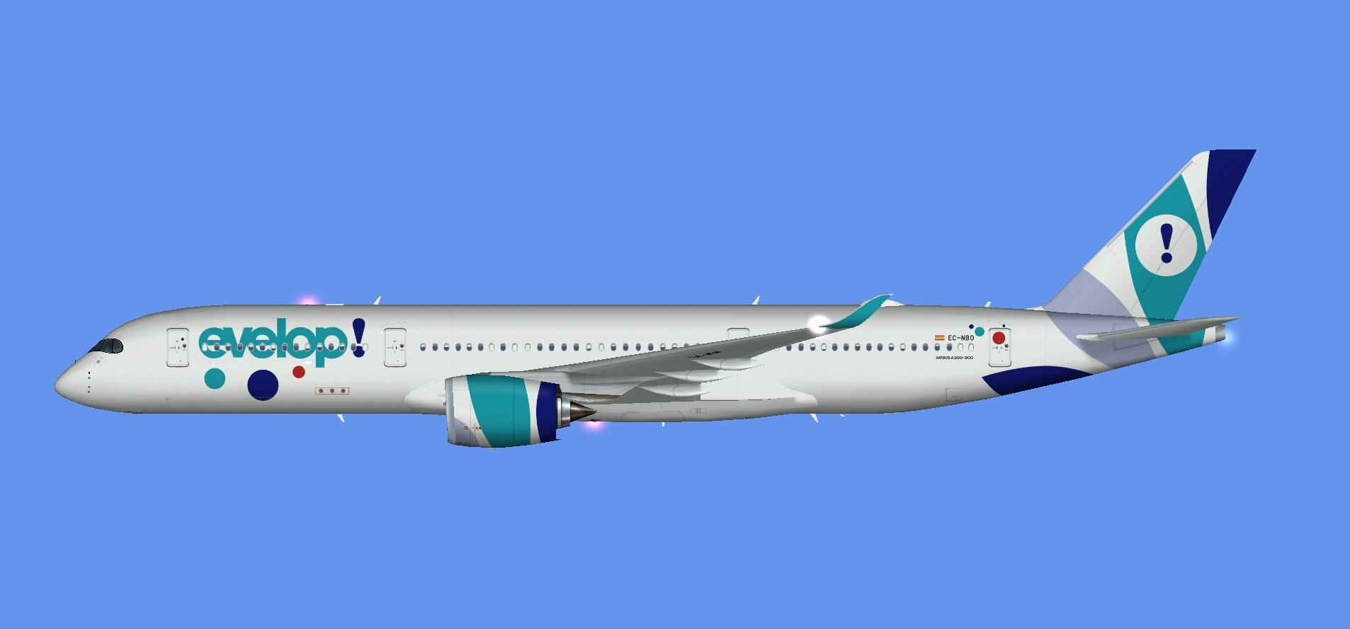 Evelop Airlines A350-900 (FSP)