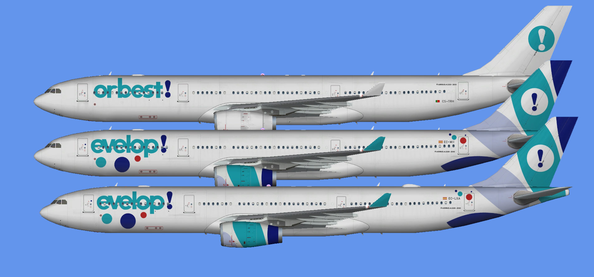 Evelop/Orbest A330-300 (FSP) - The Flying Carpet Hub