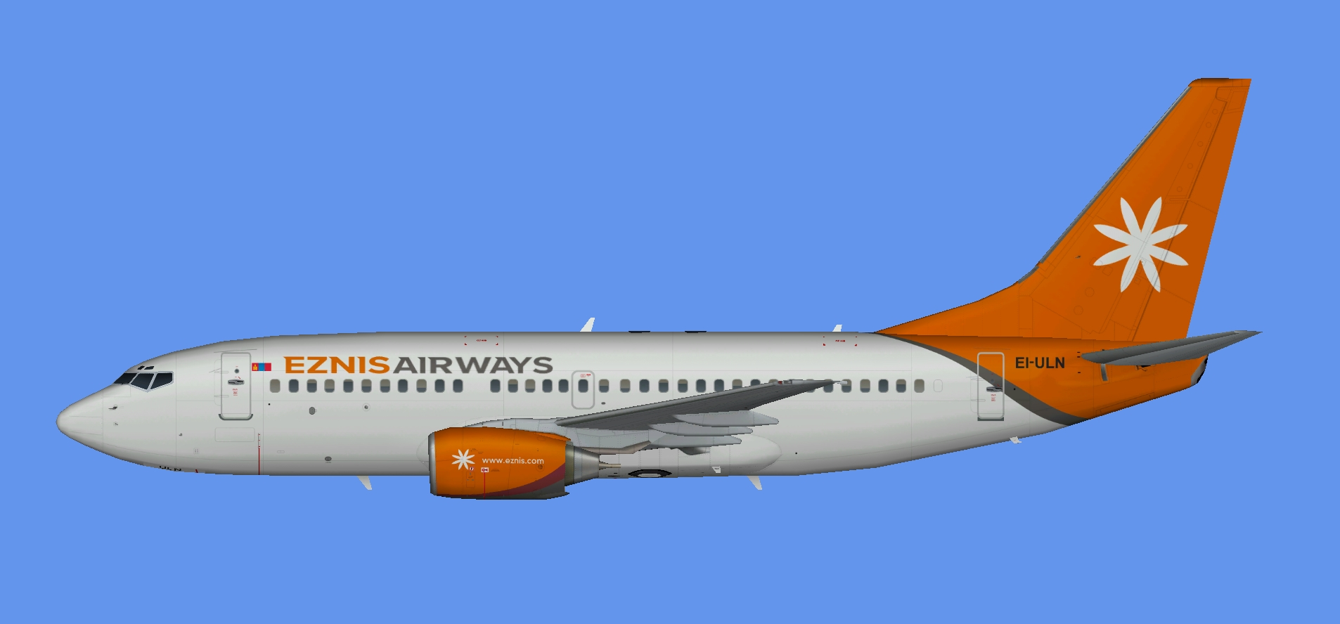 Eznis Airways Boeing 737-700
