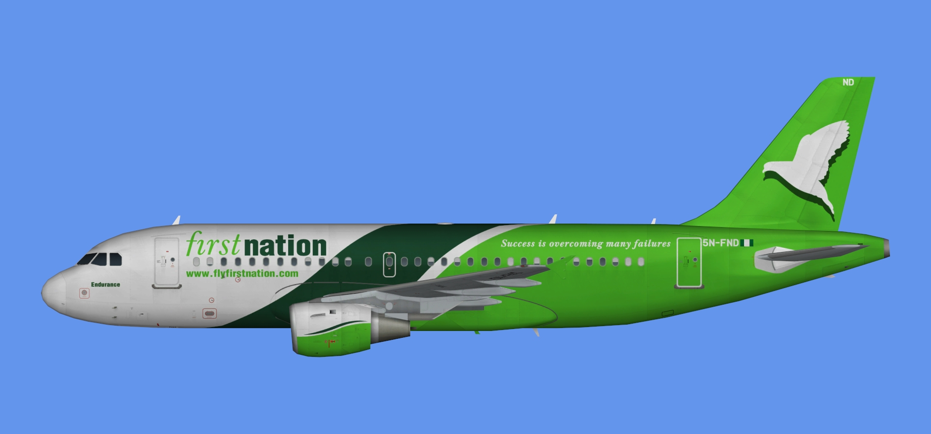 First Nation Airbus A319